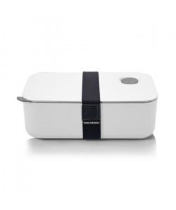 YOKO DESIGN Lunch Box avec séparation réglable et amovible 1 L blanc