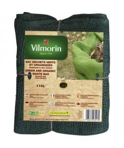 VILMORIN Sac déchets verts et organiques toile de jute  110 L