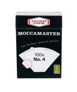 TECHNIVORM Moccamaster Boite de 100 filtres a café