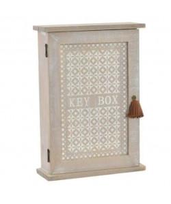 Boîte a clés en bois  20x28,5x7 cm