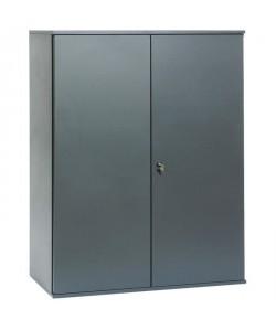 PIERRE HENRY Armoire de bureau JOKER style industriel  Métal gris anthracite  L 43 x H 105 cm