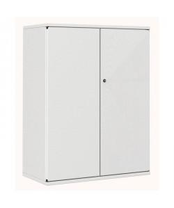 PIERRE HENRY Armoire de bureau JOKER style industriel  Métal gris clair  L 43 x H 105 cm