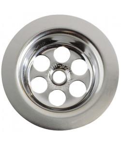 WIRQUIN Grille ronde creuse  Inox  Ř 63 mm  Lavabo ou bidet