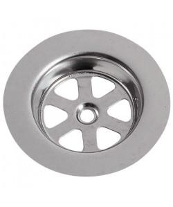 WIRQUIN Grille ronde creuse SP9236  Inox  Ř 80 mm  Évier en gres