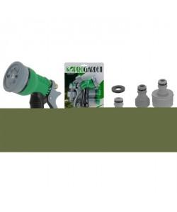 Arroseurs  Gris foncé / Vert / Noir  Sur carte blister 200x65x250mm  Lot de 7