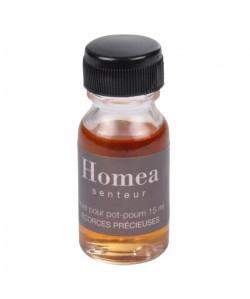 Huile pour pot pourri  15 ml  Parfum : écorces précieuses