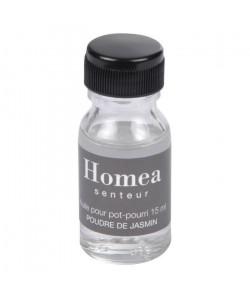 Huile pour pot pourri  15 ml  Parfum : poudre de Jasmin