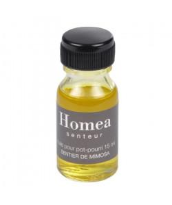 Huile pour pot pourri  15 ml  Parfum : sentier de mimosa
