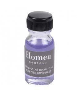Huile pour pot pourri  15 ml  Parfum : violettes impériales