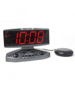 Réveil malentendant vibreur GEEMARC Wake\'n\'Shake Jumbo  Grand afficheur