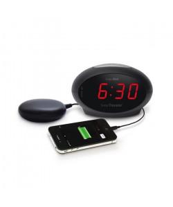 Réveil malentendant vibreur GEEMARC Sonic Traveller SBT 600SS  Port USB