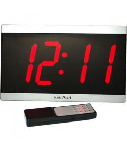Réveil malentendant GEEMARC  BD 4000 Horloge LED  Grand affichage de la date, heure et température