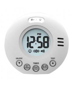 Réveil malentendant vibreur GEEMARC Wake\'n\'Shake Voyager  Fonction Snooze de 5 a 60 minutes