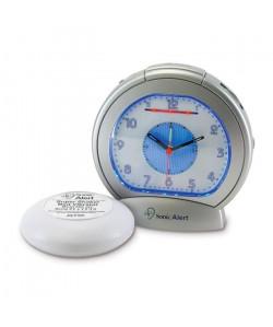 Réveil malentendant Classic analogique avec vibreur GEEMARC SBA 475SS  Réglage 12 h