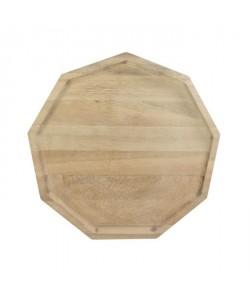 ECO DESIGN A2151A Assiette polygonale Blis M Acacia