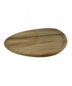 ECO DESIGN A1523 Assiette pour apéritif PUKA  25x25x3 cm