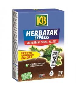 KB Désherbant Herbatak Express  12 tubes prédosés