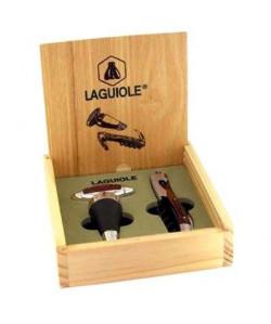 Coffret cadeau Laguiole sommelier  bouchon