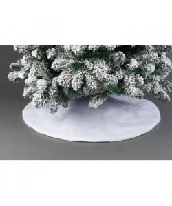 Robe de sapin en polyester  Ř 1 m  Blanc  20 LED