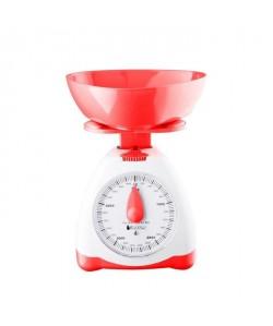 BLACK PEAR Balance de cuisine mécanique  Blanc et rouge