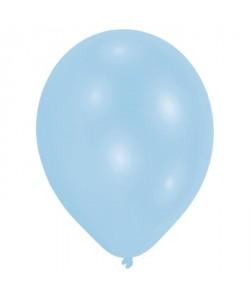 Lot de 50 Ballons  Latex  Premium  27,5 cm  Bleu pâle