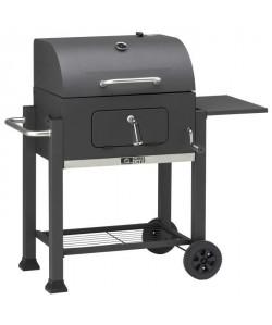 LANDMANN Barbecue a charbon  Acier émaillé  DECAPSULEUR, GRILLE MAINTIEN AU CHAUD, PORTE USTENSILES  42x56cm