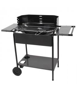 SOMAGIC Barbecue charbon Port Camargue  Acier chromé  56,5x38,5cm