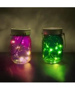 THUMBSUP Pack de 2 bocaux illuminés