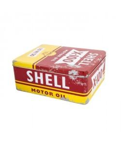 Boite déco shell  métal 21x16x9 cm