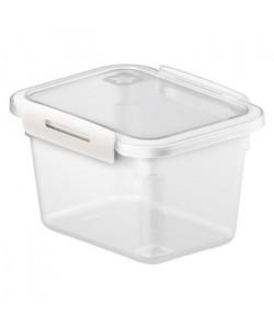 SUNDIS Boîte de conservation plate Memory 1263002 0,85L 15x12x9,5 cm transparent