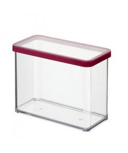 SUNDIS Boîte de conservation rectangulaire Loft 1607001 2,1 L 20x10x14,2 cm transparent