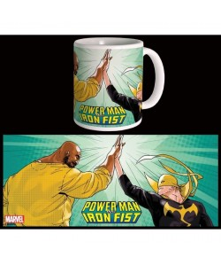 Mug Marvel High Five Powerman & Iron Fist Blanc