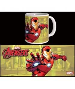Mug Marvel Iron Man Avengers Série 2 Blanc