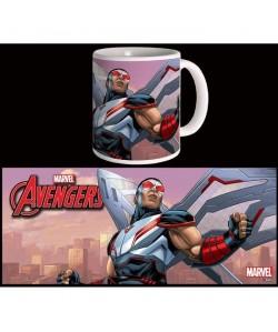 Mug Marvel Falcon Avengers Série 2 Blanc