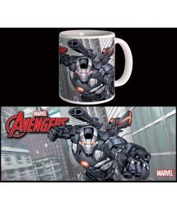 Mug Marvel War Machine Avengers Série 2 Blanc