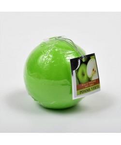 Bougie parfumée ronde Pomme verte dia  7.5cm