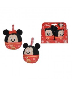 MICKEY MOUSE Boules de Noël Mickey et Minnie