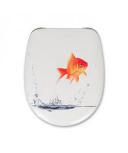 CEDO Abattant Malibu Beach Goldfish 46x38,3x4,9cm