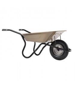 HAEMMERLIN Brouette Bibox Plus taupe gonflée 1 roue