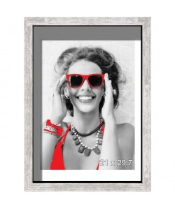 Cadre photo Coffre Harry 21x29,7 cm Gris
