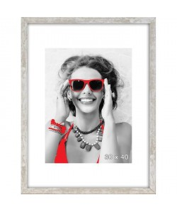 Cadre photo Coffre Harry 30x40 cm Gris