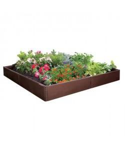 TECHIT Jardin potager multiformes 115 x 115 cm x 13,5 cm