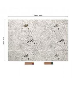 REEVES Poster a colorier  Décor Zen  114 x 60 cm