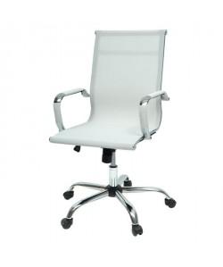 Contemporain 77 De Chaise Style P 57 Blanc L X Cm Tissu Bureau Law wm0OvnN8