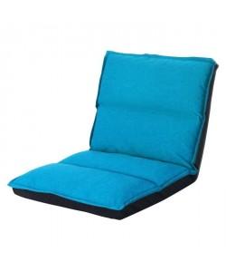KOKO Chauffeuse enfant multiposition 1 place  Tissu turquoise  Contemporain  L 65 x P 81 cm