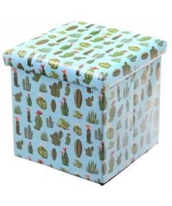 Coffre de Rangement pliable  Cactus