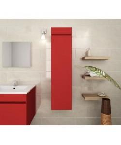 LUNA Colonne de salle de bain L 30 cm  Rouge mat