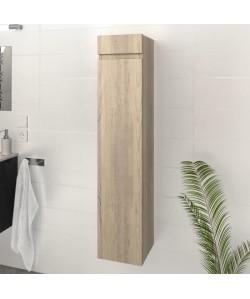 LUNA / LIMA Colonne de salle de bain L 25 cm  Décor chene sonoma