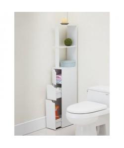 TOP Colonne de toilette L 15 cm  Blanc