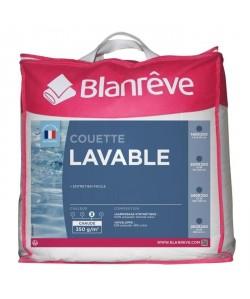 BLANREVE Couette chaude LAVABLE 240x260 cm blanc